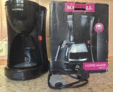 MAXWELL MW-1651 BK кофеварка капельная без колбы