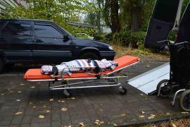 Перевезення хворих по Києву та Області